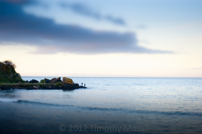 Fishing-Wynyard-Beach-Lensbaby