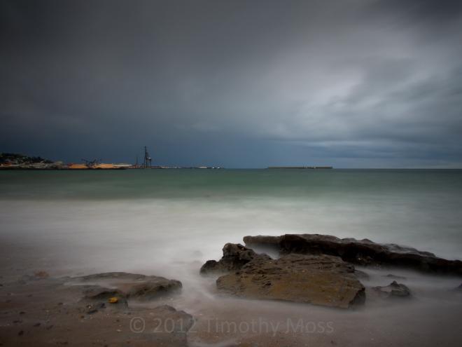 Beach-Burnie-Storm