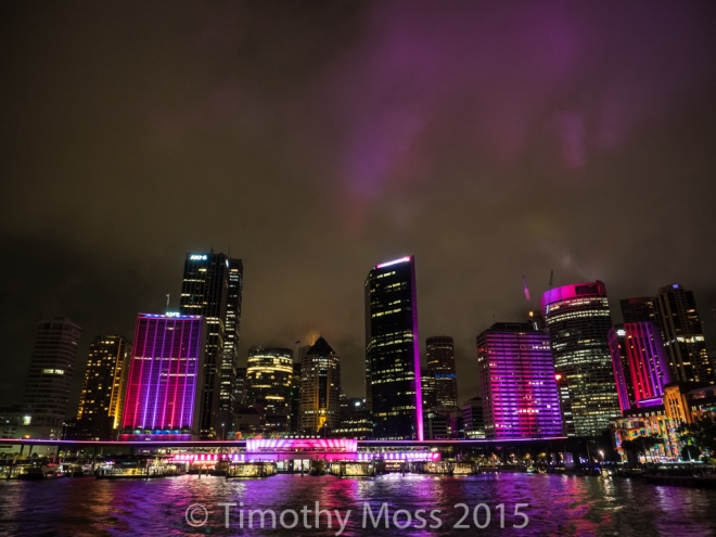 View from the ferry leaving Circular Quay